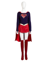 Anime Costumes AF-S2-620449 Supergirl Kara Danvers Halloween Cosplay Costume