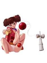 Anime Costumes AF-S2-620461 Kabaneri Of The Iron Fortress Mumei Kendama Anime Cosplay Weapons