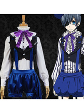 Anime Costumes AF-S2-622493 Black Butler Book Of Circus Ciel Phantomhive Halloween Cosplay Costume