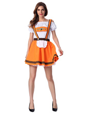Anime Costumes AF-S2-622815 Halloween Sexy Beergirl Costume Dress