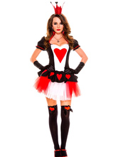 Anime Costumes AF-S2-622845 Halloween Saloon Girl Costume Red Sexy Dress Set For Women