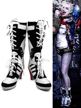 Anime Costumes AF-S2-624611 Batman Suicide Squad Harley Quinn Halloween 2017 Film Cosplay Shoes