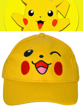 Anime Costumes AF-S2-624523 Pokemon Go Pokemonster Pikachu Yellow Cosplay Hat
