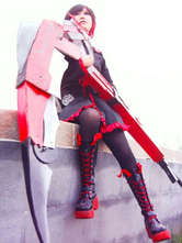 Anime Costumes AF-S2-624577 Rwby Ruby Rose Halloween Cosplay Shoes