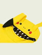 Anime Costumes AF-S2-624513 Pokemon Go Pokemonster Pikachu Kawaii Hoodie Cosplay Costume