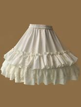 Lolita Petticoat Dress White Chiffon Layered Ruffles Lolita Petticoat Skirt