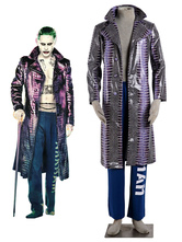 Anime Costumes AF-S2-625195 Suicide Squad Joker Overcoat Film Halloween Cosplay Costume