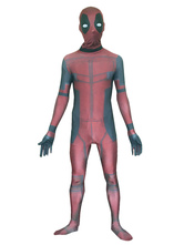 Anime Costumes AF-S2-626193 Halloween Deadpool Zentai Lycra Spandex Costume