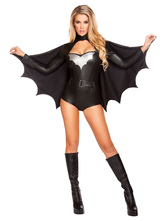 Anime Costumes AF-S2-626345 Batman Halloween Women's Black Costumes
