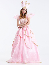 Anime Costumes AF-S2-626275 Halloween Sexy Costumes Princess Pink Dress With Hat