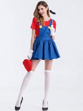 Basler Fasnacht Damen Super Mario Kostum Karnevalskostume Karneval