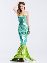 Anime Costumes AF-S2-626229 Halloween Costume Sexy Mermaid Women's Long Bodycon Dress