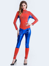 Anime Costumes AF-S2-626257 Halloween Costume Spiderman Women's Cosplay Jumpsuit