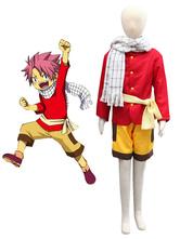 Fairy Tale Natsu Halloween Cosplay Costume Kids Cotume Halloween