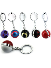 Anime Costumes AF-S2-627623 Pokemonster Pokemon Go Poke Ball Anime Game Key Chain
