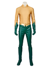 Anime Costumes AF-S2-628223 Justice League Aquaman Arthur Curry Halloween Cosplay Costume