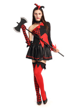 Anime Costumes AF-S2-628949 Batman Harley Quinn Halloween Cosplay Costume DC Comics Cosplay