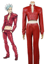 Anime Costumes AF-S2-629267 The Seven Deadly Sins Ban Halloween Cosplay Costume Fox's Sin Of Greed Cosplay