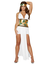 Anime Costumes AF-S2-629387 Halloween Costume Sexy Greek White Sash Slim Fit Outfits