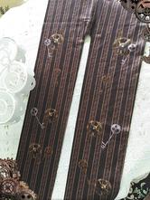 Lolitashow Sweet Lolita chaussettes engrenage Steampunk Style Lolita bas