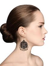 Pierced Statement Earrings Dangle Earrings Cutout Wedding Earrings