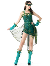 Anime Costumes AF-S2-630591 Batman Poison Ivy Halloween Cosplay Costume DC Comics Cosplay
