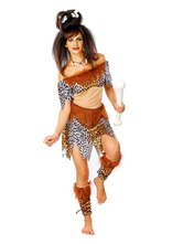 Anime Costumes AF-S2-630689 Couples Costumes 2017 Wild Man Costumes Halloweeen Savage Costumes