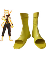 Anime Costumes AF-S2-632187 Uzumaki Naruto Nine-Tails Chakra Mode Cosplay Shoes