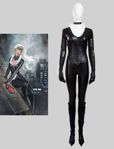 Anime Costumes AF-S2-634363 The Amazing Spider Man Black Cat Felicia Hardy Halloween Cosplay Costume