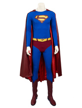 Anime Costumes AF-S2-634369 Superman Returns Superman Clark Kent Cosplay Costume