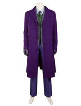 Anime Costumes AF-S2-634375 Batman The Dark Knight Rises Joker Halloween Cosplay Costume Deluxe Edition