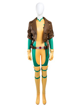 Anime Costumes AF-S2-634353 X Men Rogue Halloween Cosplay Costume Marvel Comics Cosplay