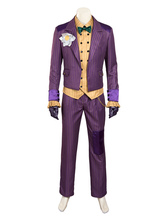 Anime Costumes AF-S2-634373 Batman Arkham Asylum Joker Halloween Cosplay Costume