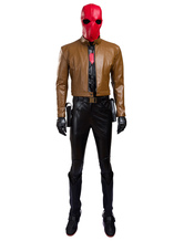 Anime Costumes AF-S2-634371 Batman Red Hood Jason Todd Halloween Cosplay Costume