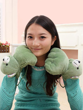 Anime Costumes AF-S2-637243 Kigurumi Pajama Green Claw Panda Onesie Terry Gloves Costume For Women
