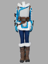 Anime Costumes AF-S2-637375 Overwatch OW Mei Cosplay Costume
