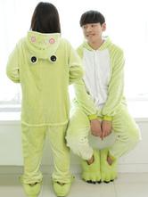 Anime Costumes AF-S2-638243 Kigurumi Pajama Frog Onesie Flannel Animal Couple Costume