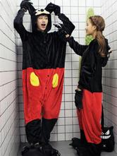Anime Costumes AF-S2-638235 Kigurumi Pajama Mickey Mouse Onsie Flannel Couple Costume