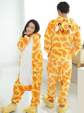 Anime Costumes AF-S2-638251 Kigurumi Pajama Giraffe Onesie Flannel Animal Couple Costume