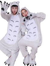 Anime Costumes AF-S2-638253 Kigurumi Pajama Totoro Onesie Grey Flannel Animal Couple Costume