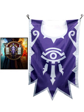 Anime Costumes AF-S2-641055 World Of Warcraft Wow Flag Blizzard Video Game Flag