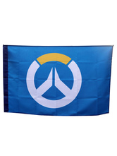 Anime Costumes AF-S2-641051 Overwatch Ow Flag Blizzard Video Game Flag