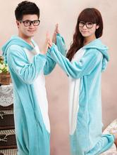 Anime Costumes AF-S2-641983 Kigurumi Pajama Koala Onesie Blue Flannel Animal Costume For Couple