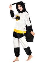 Costume Carnevale Batman Kigurumi pigiama grigio flanella Onesie adulto Cosplay Costume