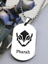Anime Costumes AF-S2-642599 Overwatch Ow Pharah Metal Tag Blizzard Video Game Metal Tag
