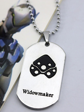 Anime Costumes AF-S2-642631 Overwatch Ow Widowmaker Y Metal Tag Blizzard Video Game Metal Tag