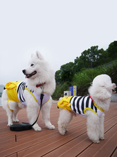 Anime Costumes AF-S2-644151 Yellow Striped Pokemon Pet Costume