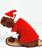 Anime Costumes AF-S2-644141 Santa Dog Costume Christmas Coat Costume Clothes For Pets
