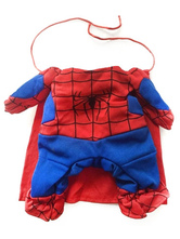 Anime Costumes AF-S2-644153 Spiderman Pet Costume Holloween Dog Costume