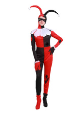 Anime Costumes AF-S2-644777 Couple Costume Outfits Red Back Jumpsuit Carnival Costume